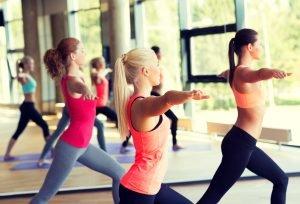 yoga shutterstock - women